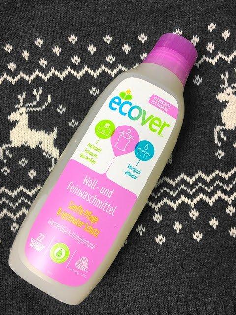 ecover nachhaltiges veganes Waschittel für traumhafte Wäsche