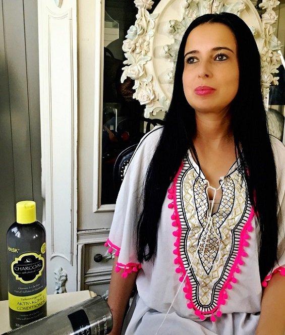 Isabella Labella zeigt HASK Shampoo auf ihrem Lifestyle Blog Label Love