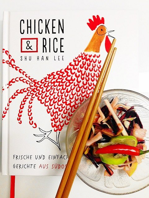 Die Autorin Shu Han Lee von Chicken and Rice kocht leckere Asia Küche