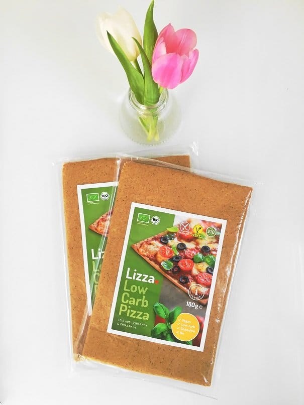 Lizza die leckere Low Carb Pizza