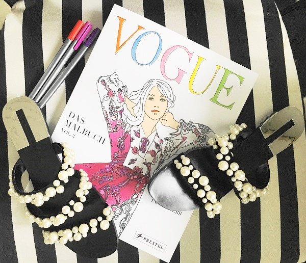 Das Malbuch 2 von Vogue