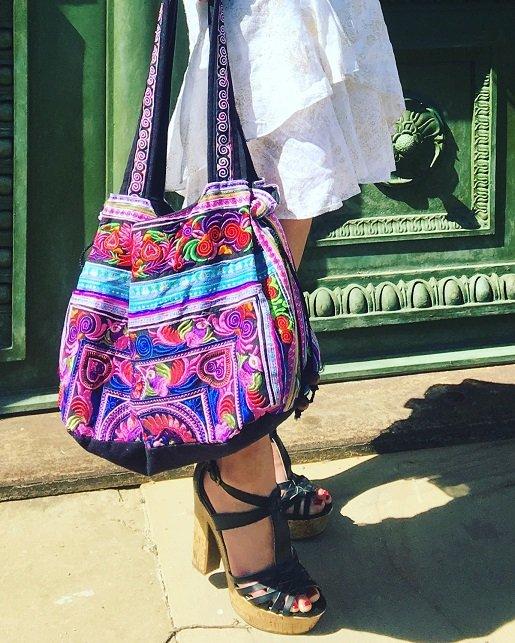Isabella Labella zeigt ihre Ibiza Tasche auf ihrem Blog Label Love
