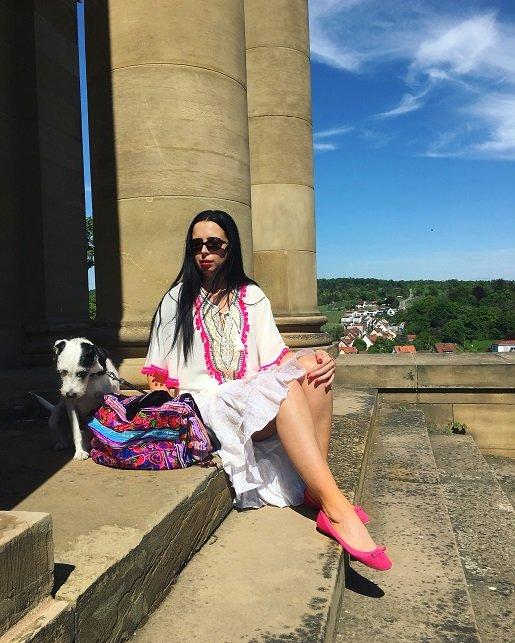 Isabella Labella zeigt ihre Ibiza Hippie Tunika auf dem Blog Label Love
