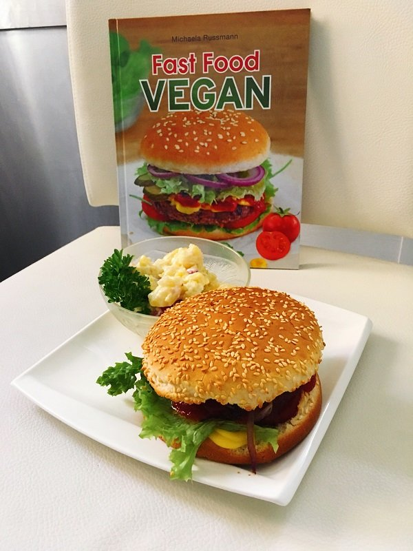 Fast Food Vegan von Michaela Russmann auf dem Blog Label Love