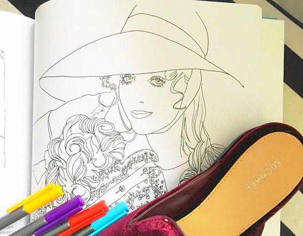 Das Malbuch 2 von Vogue auf dem Lifestyle Blog Label Love