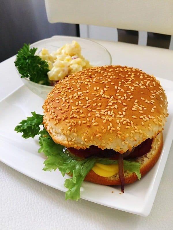 Fast Food Vegan von Michaela Russmann auf dem Blog Label Love leckere vegane Rezepte
