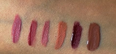 Kylie Jenner Lip Kit Swatches vorgestellt auf dem Beauty Blog Label Love