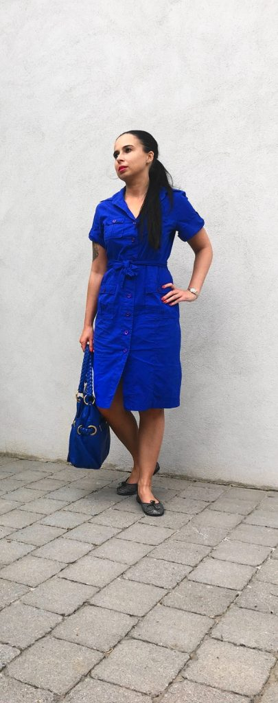 Hemdblusenkleid von Van Laack auf dem Lifestyle Blog Label Love