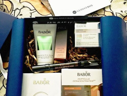"Die aktuelle Glossybox loves Babor Edition ""be your own kind of Beautiful"" mit tollen Produkten der Marke"