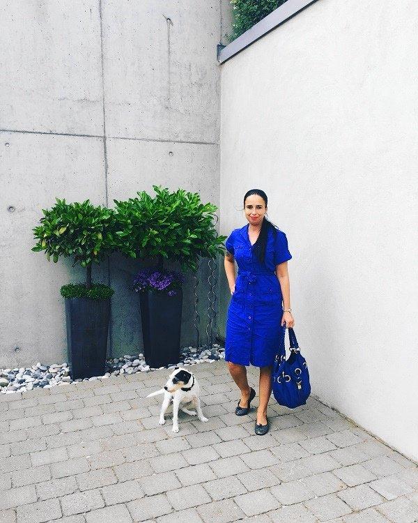 Tolles Hemdblusenkleid von Van Laack auf dem Fashion Blog Label Love