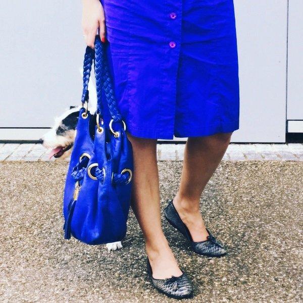 Schickes Hemdblusenkleid von Van Laack auf dem Fashion Blog Label Love