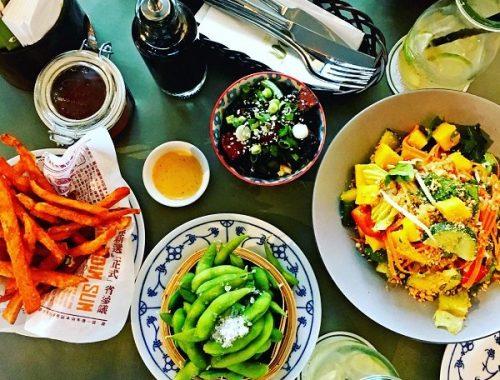 Im coa gibt es leckeres asiatisches Essen