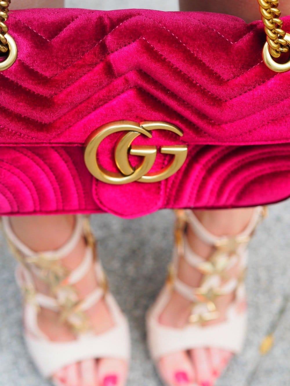 Heute zeige ich euch einen Sommerlook in zarten Candy Colours und meiner Gucci GG Marmont und verrate euch skurrile Details aus dem weltbekannten Hotel Chateau Marmont in Hollywood