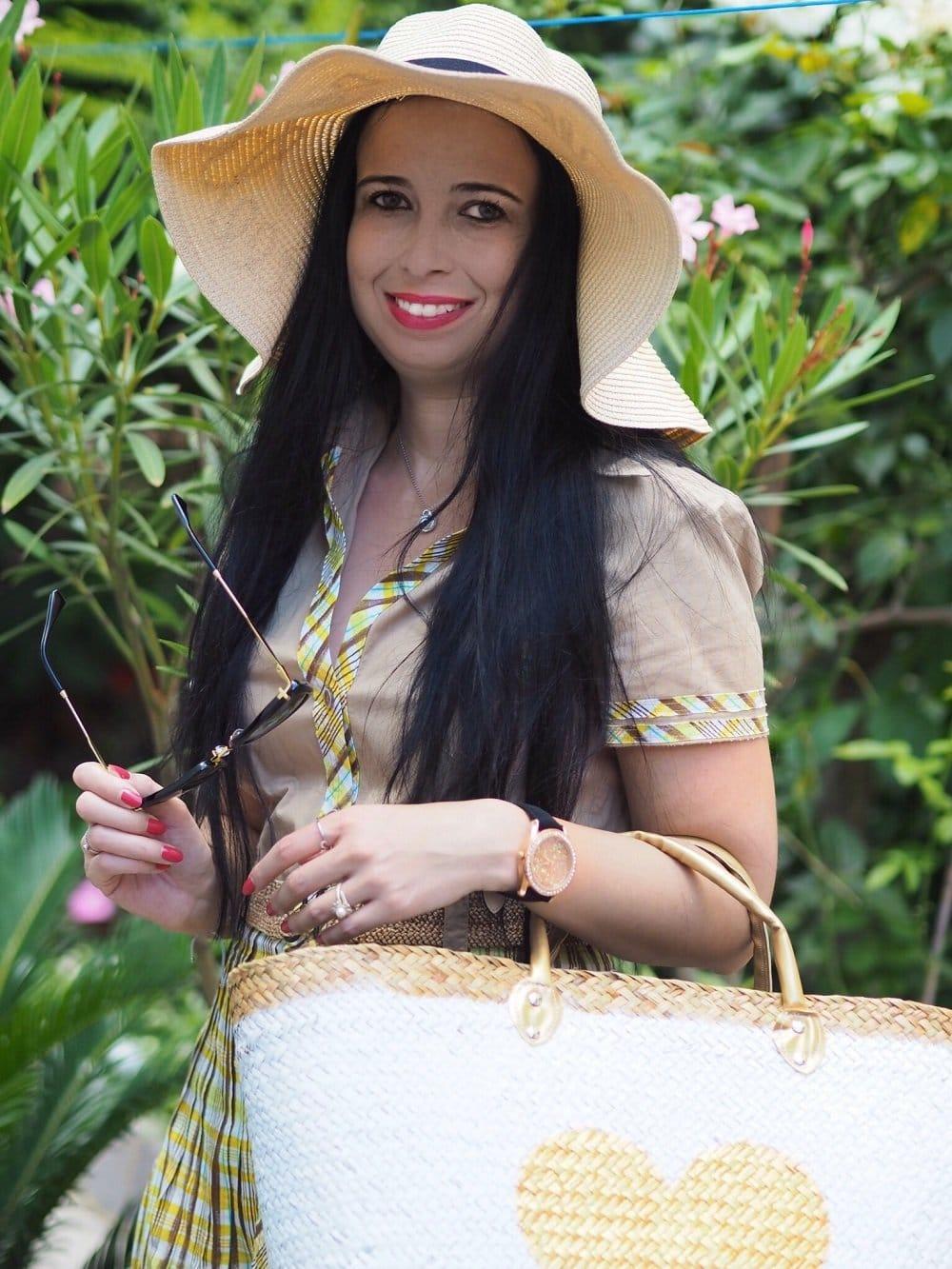 Safari Queen im Steffen Schraut Kleid