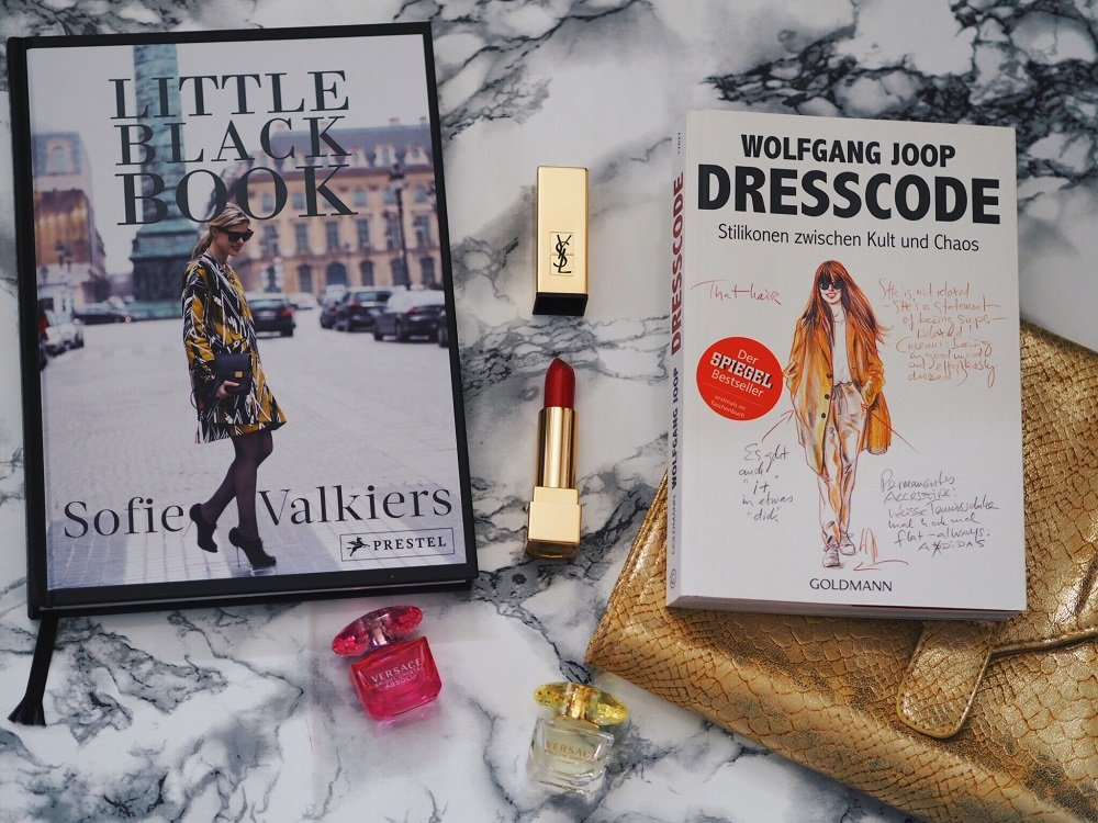 Heute rezensiere ich zwei interessante Bücher von Wolfgang Joop und Sofie Valkiers in meinem Blog-Dresscode und The Little Black Book für Fashionblogger