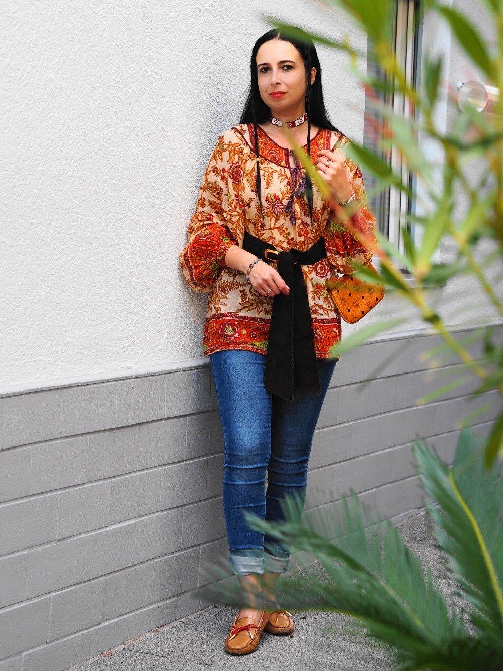 Heute zeige ich euch ein Indian Summer Outfit passend zum Herbst und erzähle euch die Geschichte von der echten Pocahontas
