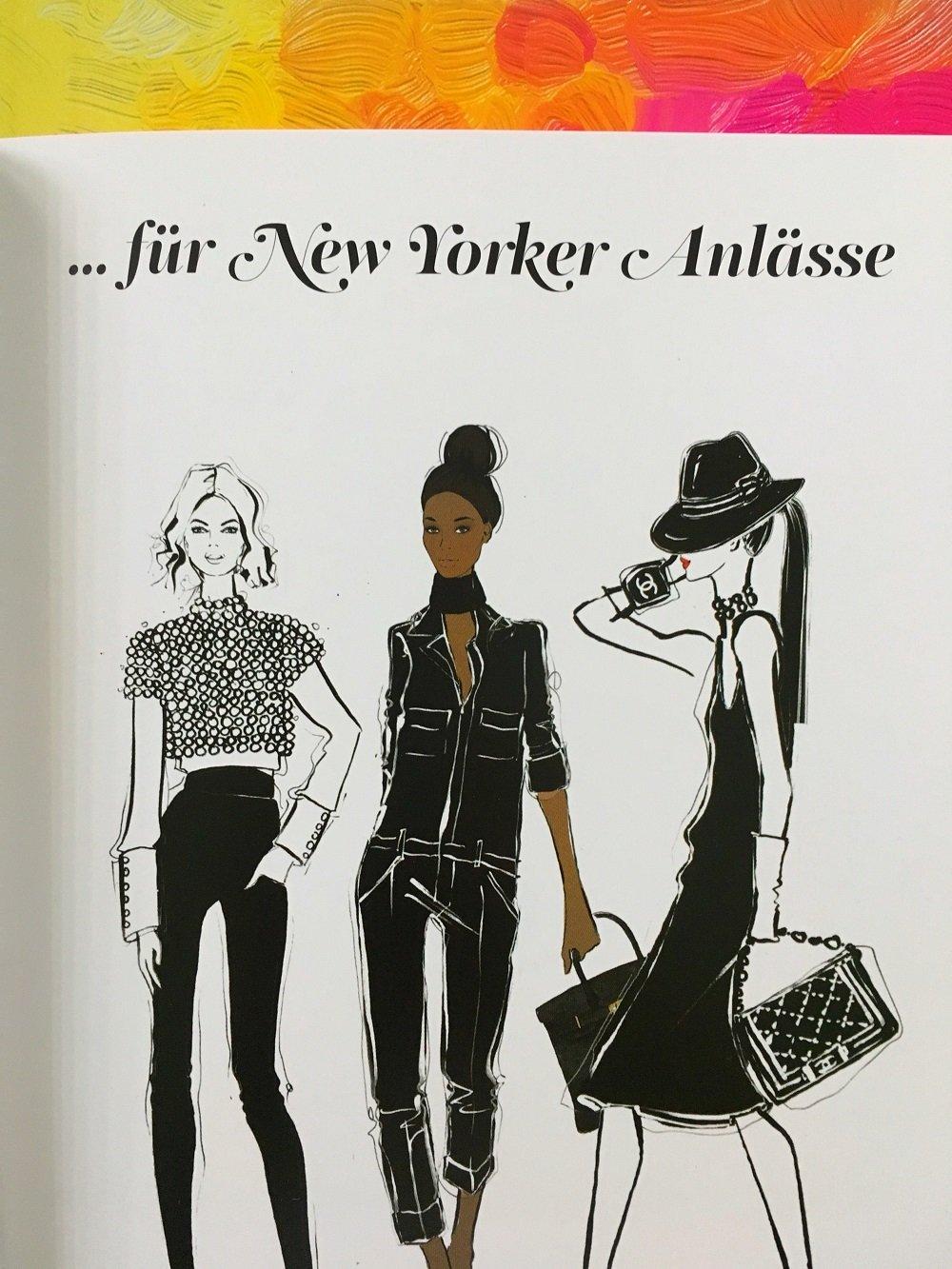 """Heute stelle ich euch das tolle Buch """"New York: Der Fashion und Lifestyle-Guide"""" von Megan Hess auf meinem Blog etwas näher vor"""