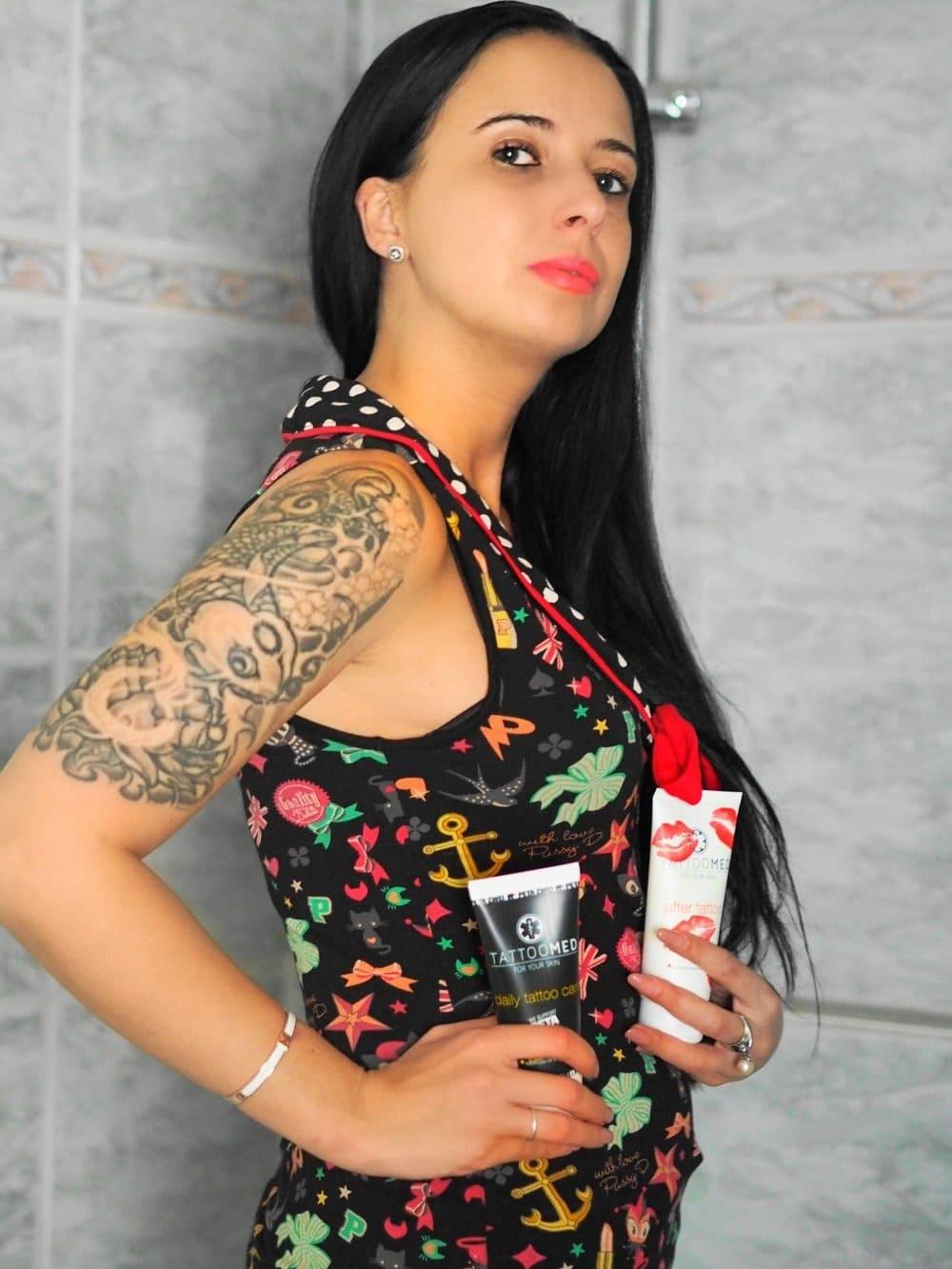 Heute zeige ich euch wunderbare vegane Pflegeprodukte für eure Tattoos von TattooMed und führe ein kleines Interview mit den Machern der Marke
