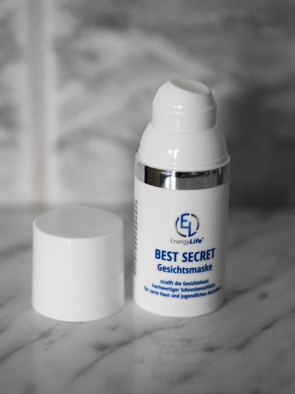 Heute stelle ich euch die luxuriöse und exklusive Hautpflege von BEST SECRET von Energy Life mit hochwertigem Schneckensekret auf dem Blog ausführlich vor