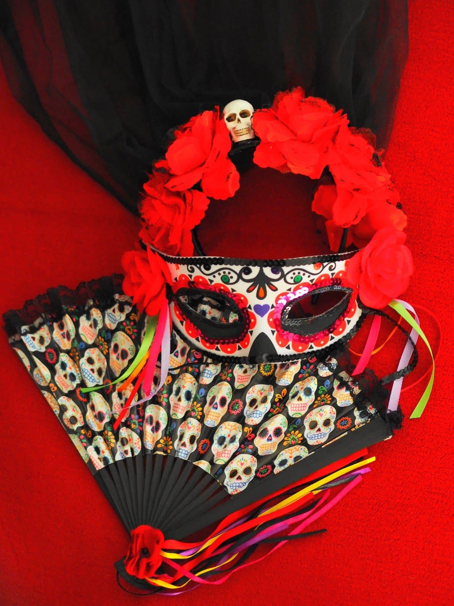 Heute zeige ich euch mein Halloween La Catrina Look ganz im Stil des Dia de los Muertos und erzähle euch ein wenig über die tollen Feierlichkeiten in Mexiko