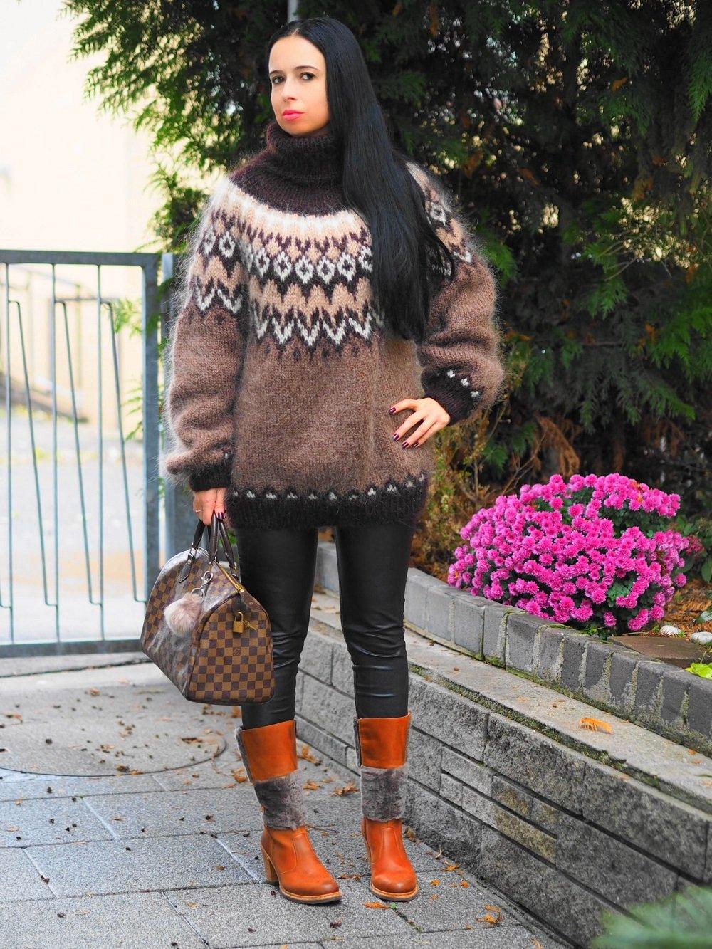 Heute zeige ich auf meinem Blog einen Islandpullover von Supertanya Knitwear, den ich zu eleganten Brauntönen kombiniert habe und erzähle seine Geschichte