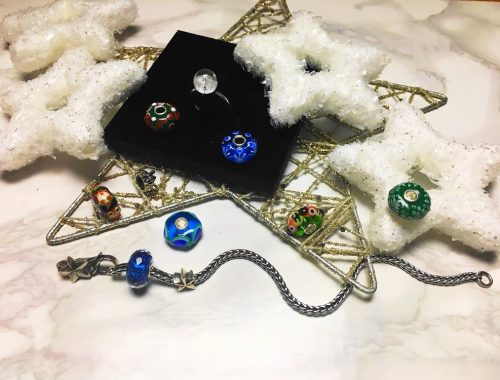 Heute entführe ich euch mit der neuen Trollbeads Nostalgia Kollektion in einer winterliches Wunderland mit Schmuckstücken aus funkelndem Glas und Silber
