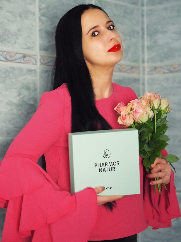 Heute zeige ich euch das Love-, Winter und Valentinstags- Set von Pharmos Natur auf dem Blog, das sich super für den tollen Tag der Liebe als Präsent eignet
