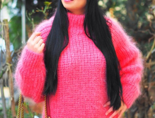 Heute zeige ich euch auf meinem Blog einen wunderschönen pinken Mohair Pullover von SuperTanya und erzähle alles über die Eigenschaften der luxuriösen Wolle