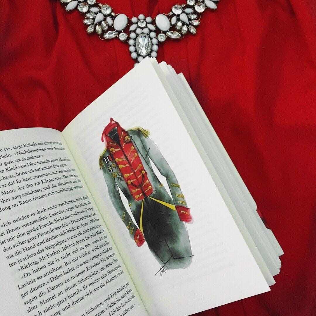 """Heute zeige ich euch auf meinem Blog ausführliche Einblicke in das neue Buch von dem begabten Modedesigner und Autor Guido Maria Kretschmer """"Das rote Kleid"""""""