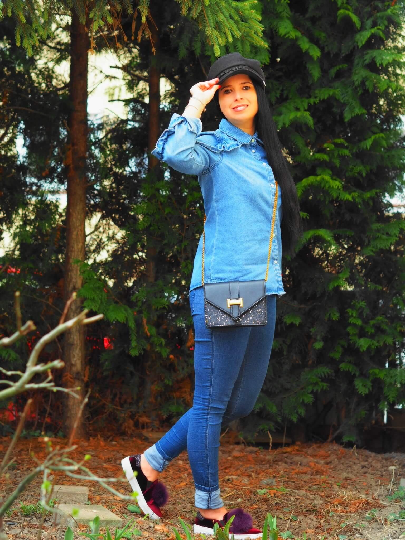 Heute zeige ich euch einen Jeans Look mit Kappe von NA-KD und Tasche von LeKoala und erzähle euch ein wenig etwas über die kultige Geschichte der Jeanshose