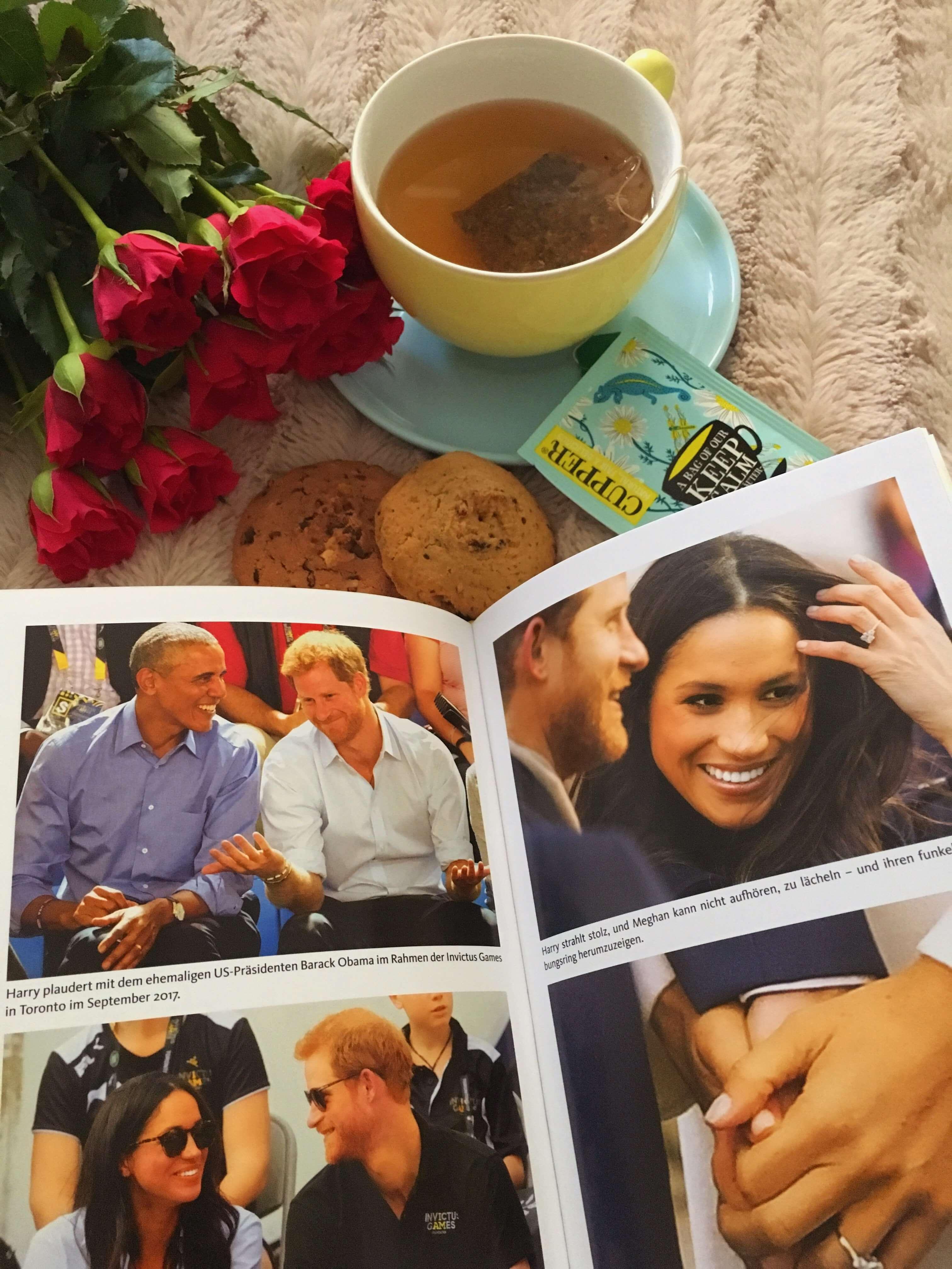 Heute stelle ich euch passend zur royalen Traumhochzeit das tolle Buch Harry - Ein Leben zwischen Liebe und Verlust von Katie Nicholl näher auf dem Blog vor
