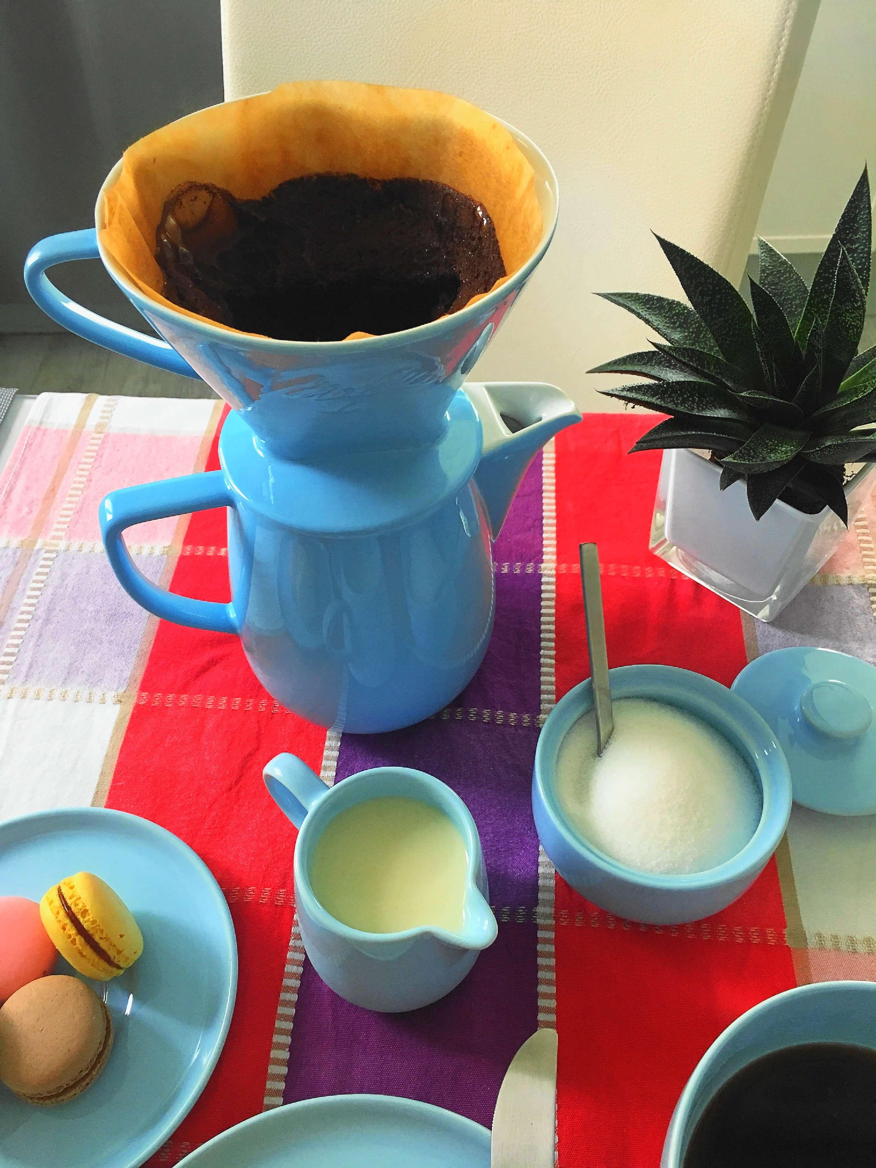 Heute zeige ich euch das stylische Melitta-Filter von Friesland Porzellan, erzähle die Geschichte des Kaffeefilters und gebe Tipps für`s perfekte Pour-Over