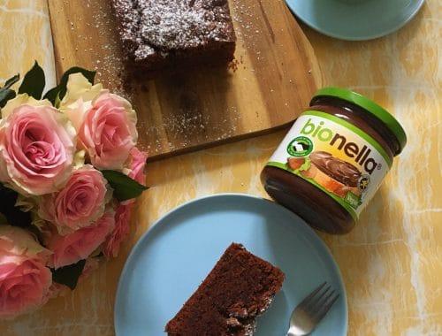 Rezept für einen bionella Schoko-Kuchen
