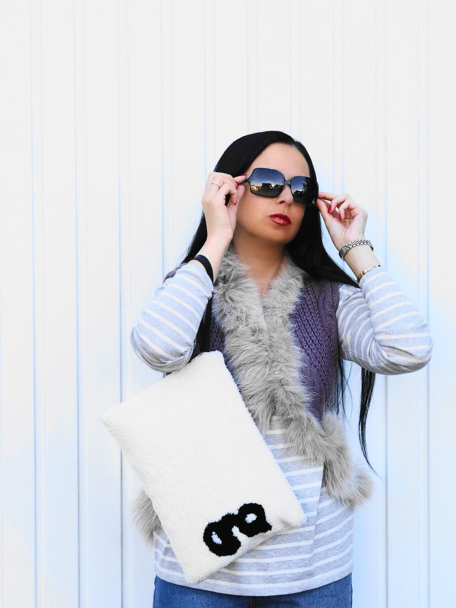 The Mercer NY macht tolle Mode aus hochwertigen Materialien wie bspw. Kaschmir und Seide. Heute zeige ich einen Herbstlook mit Pulli und glam-o-meter Clutch