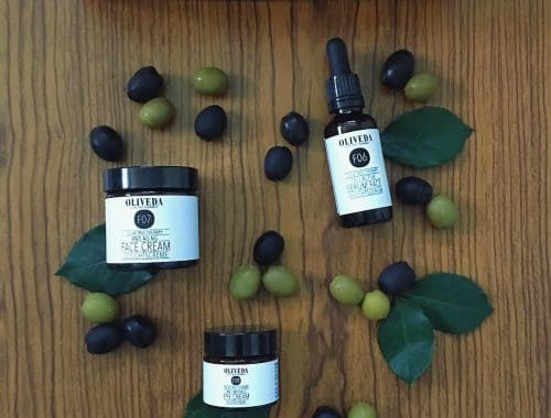 Oliveda Kosmetik aus Oliven