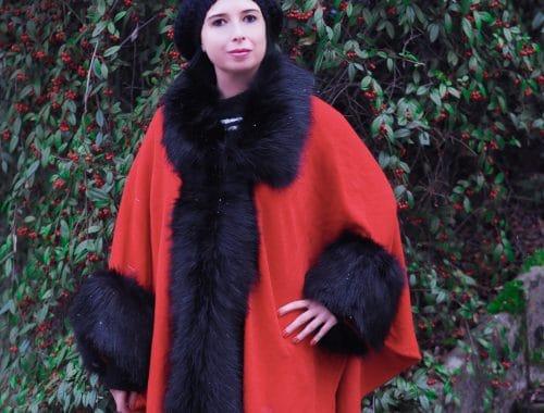 Faux Fur Poncho von JJs House