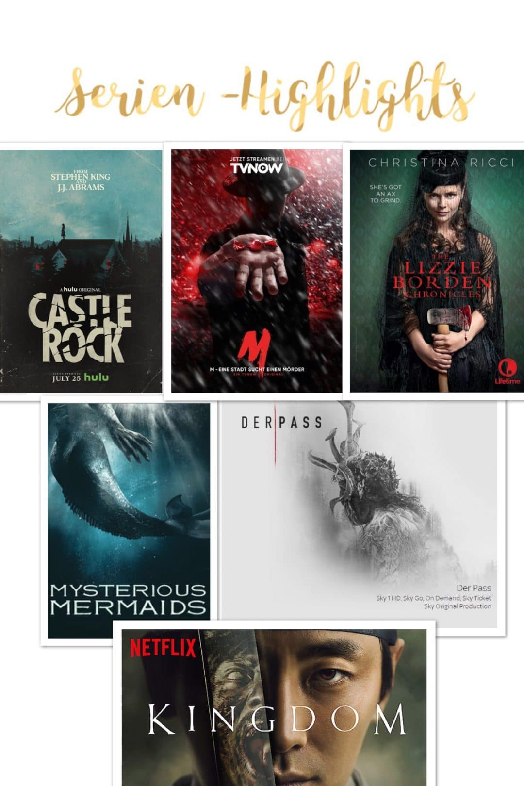 Serien-Highlights von Netflix