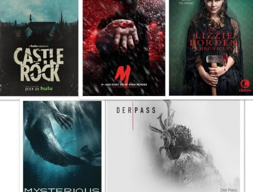 "Die Serien-Highlights ""The Lizzie Borden Chronicles"", ""M- Eine Stadt sucht nach ihren Mörder"", ""Der Pass"", ""Castle Rock"", ""Kingdom"" & ""Mysterious Mermaids""."