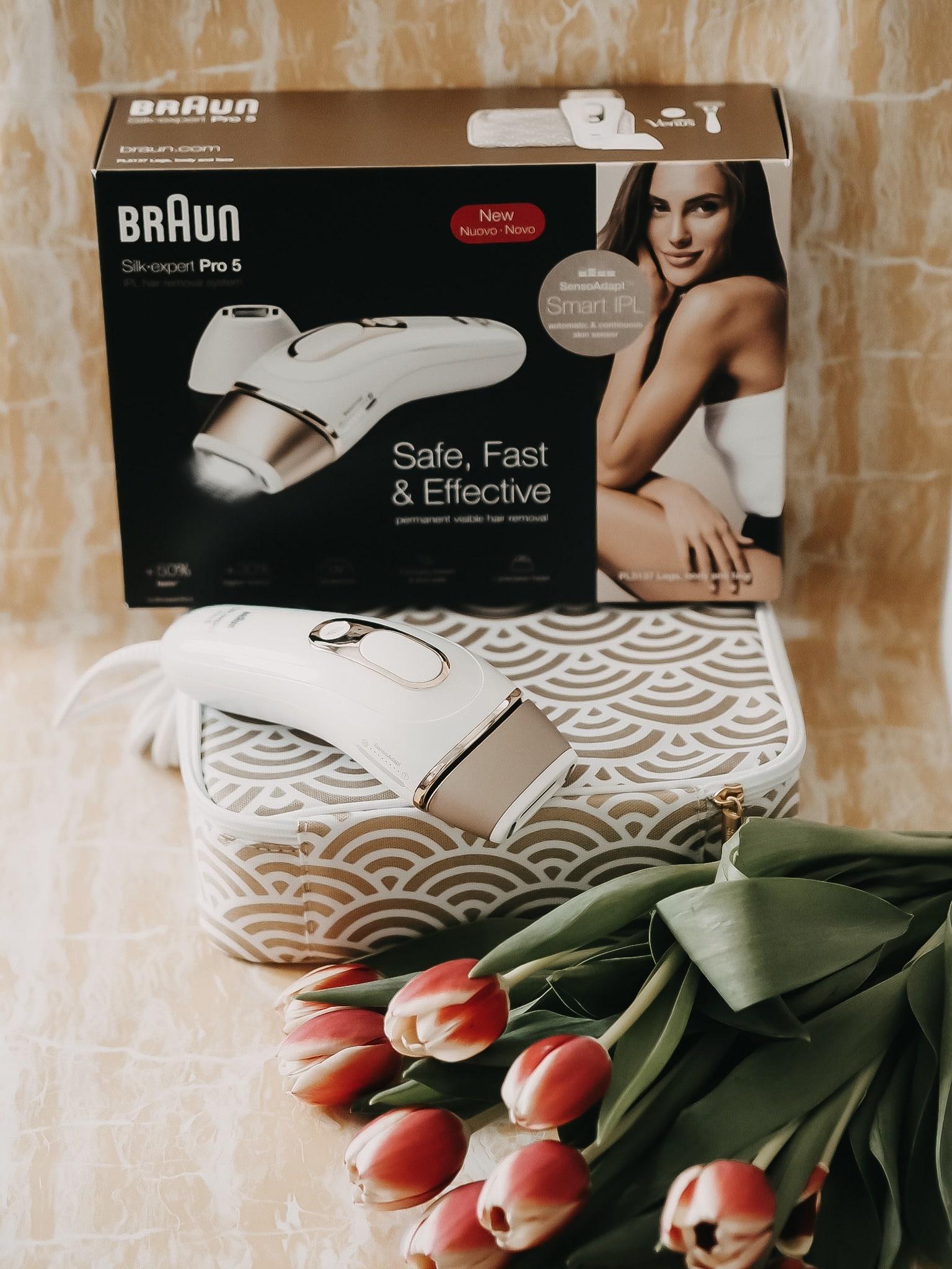 Der Silk-expert Pro 5 von Braun garantiert Dank seiner IPL-Technologie dauerhafte Haarentfernung. Heute stelle ich das effektive Gerät auf dem Blog vor.