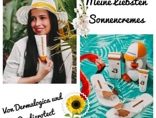 Da nur das Beste im Sommer auf meine Haut kommt, zeige ich euch meine veganen Lieblingssonnencremes von Dermalogica und Paediprotect auf meinem Beauty Blog.