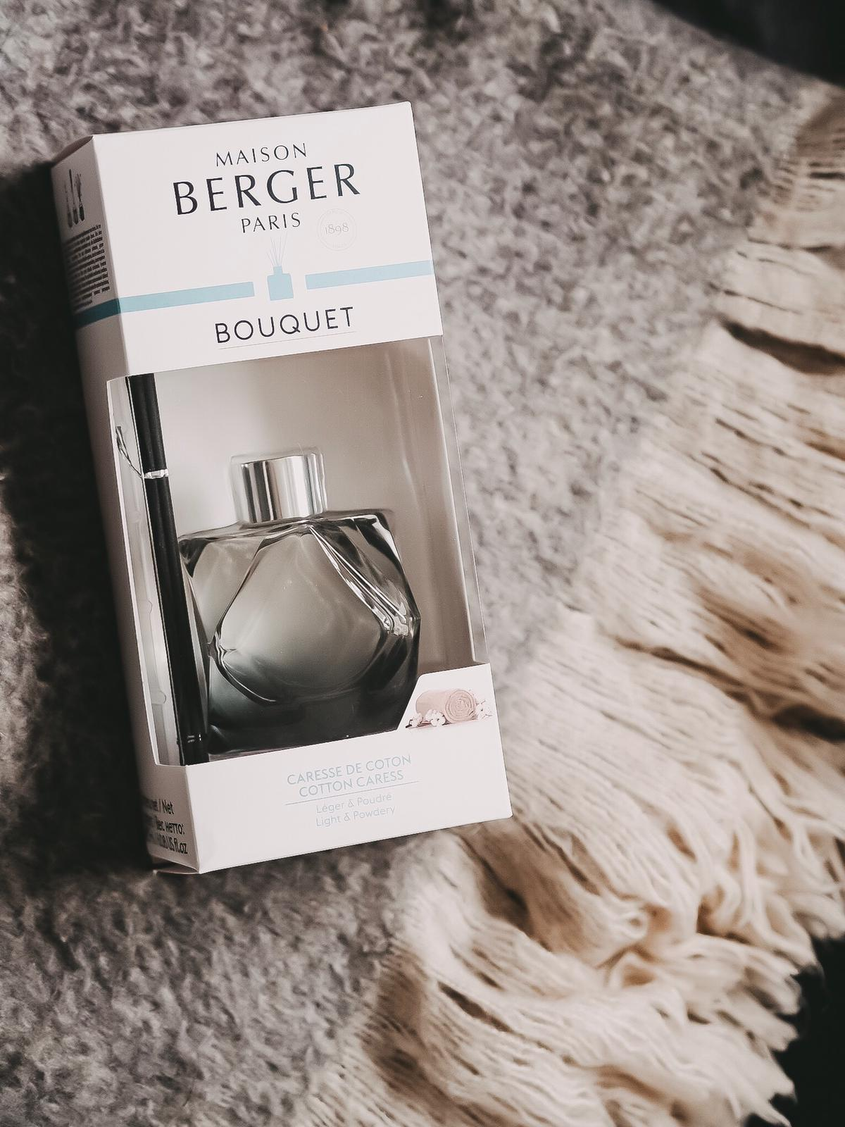 """Heute zeige ich euch die neue Kollektionen """"Immersion"""" und """"Geometry"""" von Maison Berger Paris mit schönen Raumdüften, einer Duftlampe und einem Duftbouquet."""