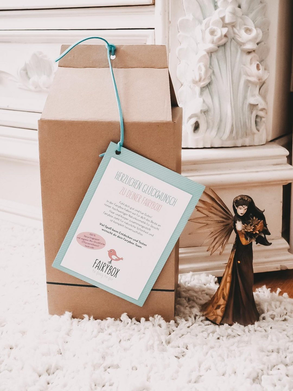 Die nachhaltige Fairybox August 2019