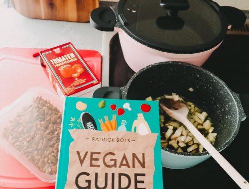 Der Ratgeber Vegan Guide von Patrick Bolk