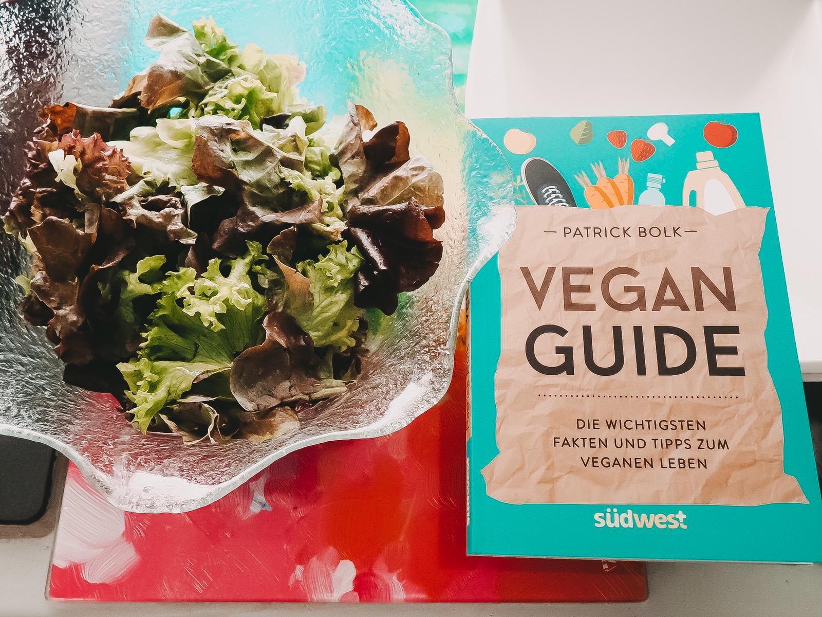 Im Ratgeber Vegan Guide führt Patrick Bolk in die vegane Ernährungs- und Lebensweise ein. Hier findet man Infos, die das vegane Leben leichter machen.