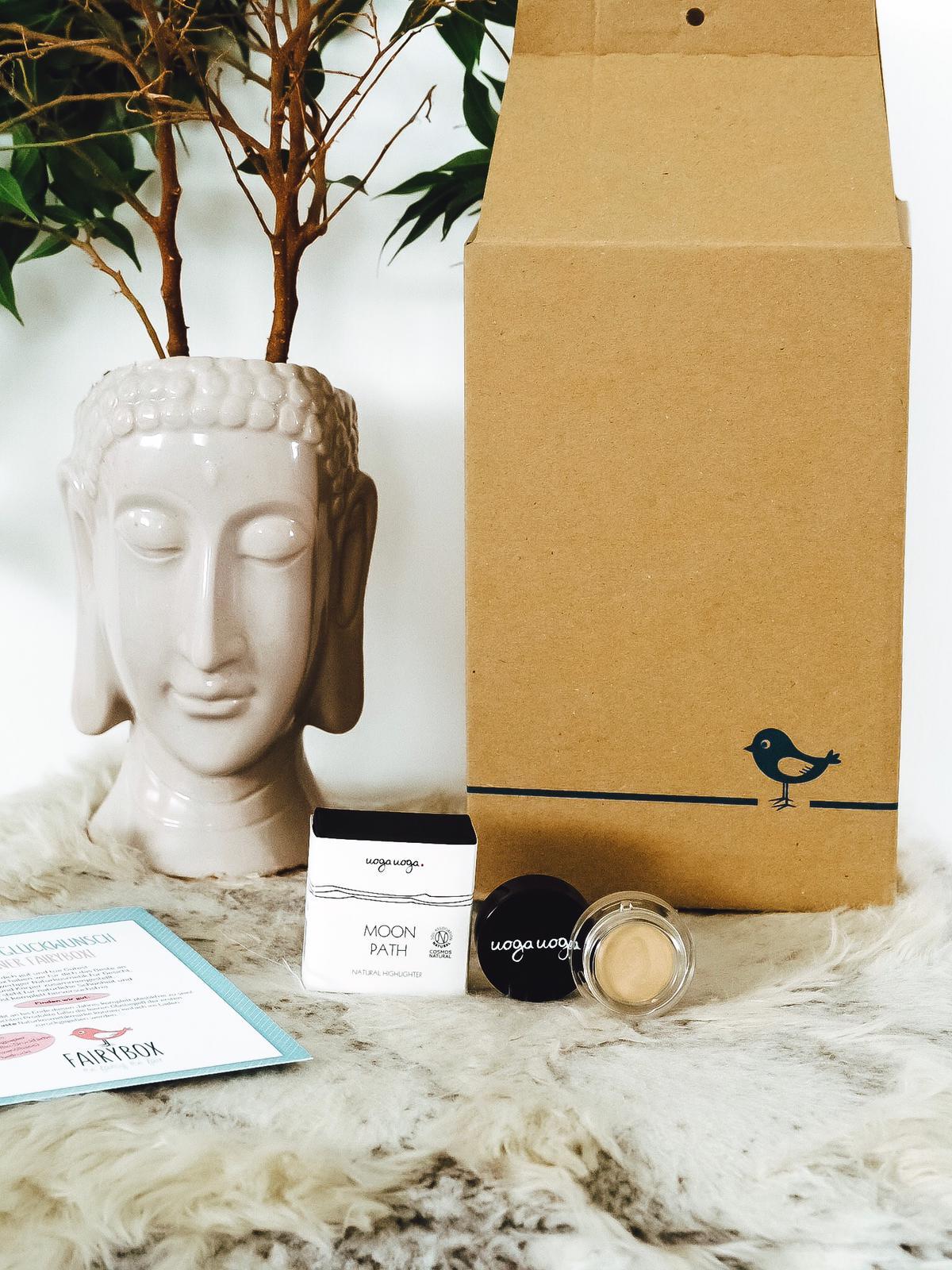 Ich zeige in einem Unboxing die wunderbare Zusammenstellung meiner liebste Beauty Box mit tierversuchsfreier Naturkosmetik, die Fairybox September 2019.