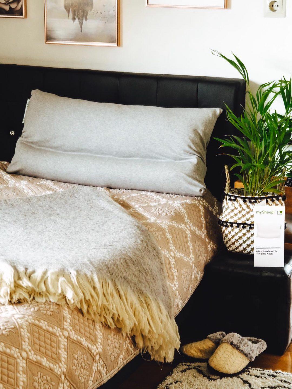 mySheepi Kissen verhelfen zu einem entspannten Schlaf.