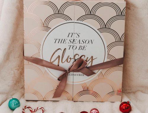 Der wunderschöne Glossybox Adventskalender 2019
