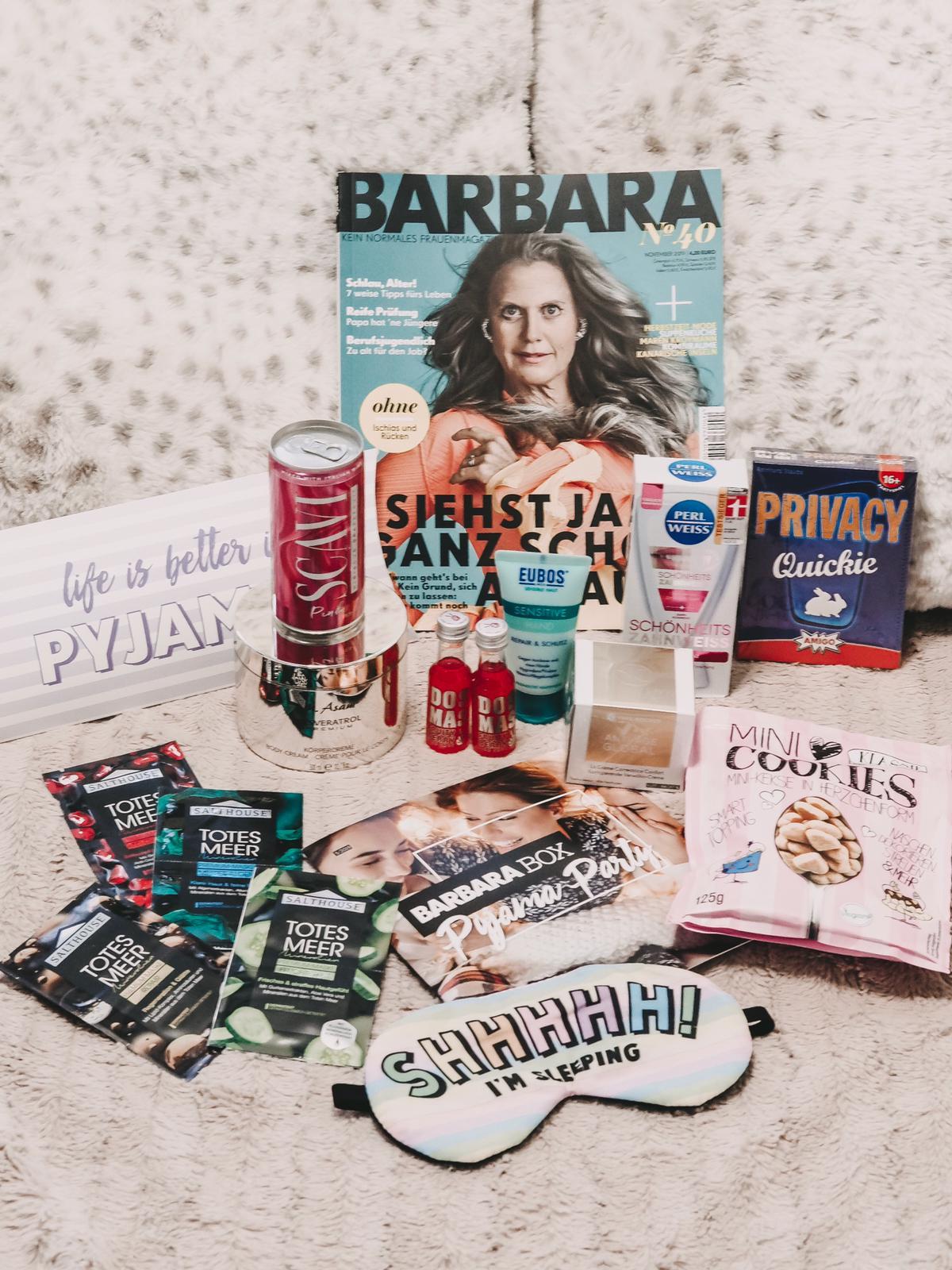Die brandneue Barbara Box Pyjama Party verfügt über viele tolle Gimmicks, mit denen ihr ganz spontan im Bett eine Party starten könnt. Unboxing auf dem Blog