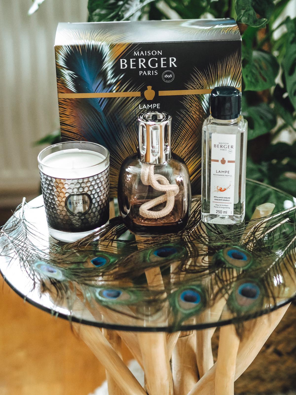 """Heute zeige die Kollektion Etincelle von Maison Berger mit einer Duftlampe und einer Duftkerze näher auf dem Lifestyle Blog vor. 15% Rabatt mit """"ISA15"""" !"""