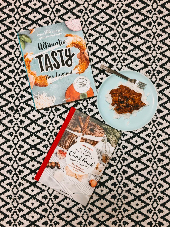 Kochbuecher Ultimativ Tasty & Mit dem Little Library Cookbook durch neue Jahr